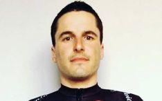 El ciclista José Mª Catalina.