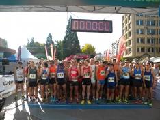Más de 1.200 personas participan en la Media Maratón y la prueba 5K