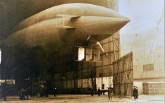 Un dirigible diseñado por Torres.