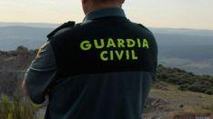 Un agente en un monte de la provincia./SN