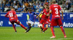 Uno de los lances del partido. /Real Oviedo