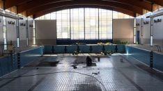 Labores en la piscina./ABO