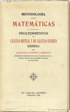 Liibro escrito por Francisco Romero.