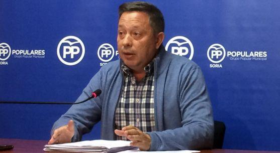 El portavoz del PP en el Ayuntamiento capitalino Adolfo Sainz.
