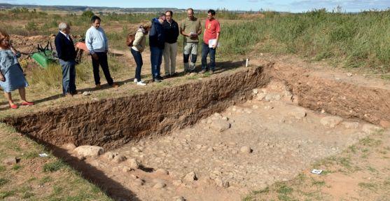 Imagen de las excavacione este lunes./Jta.
