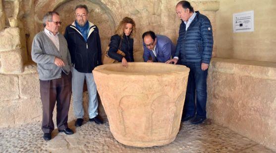 La pieza, del siglo XII, quedará instalada en el claustro de la concatedral.