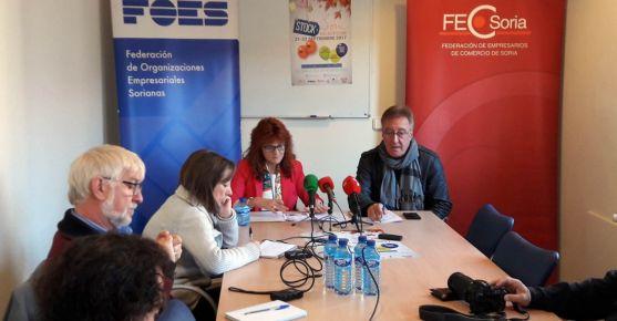 Ana Calvo y Alberto Gil en la presentación de la campaña.