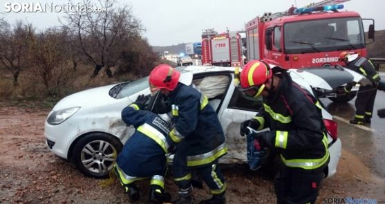 Un accidente de circulación./SN