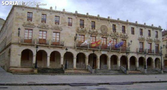 Imagen del ayuntamiento de Soria. /SN