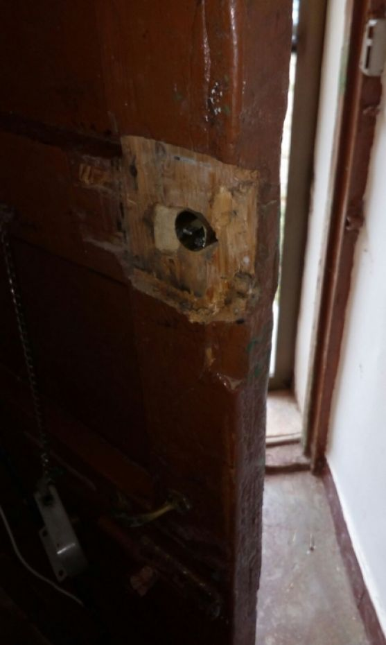 Imágenes de la vivienda en la que se ha producido el robo