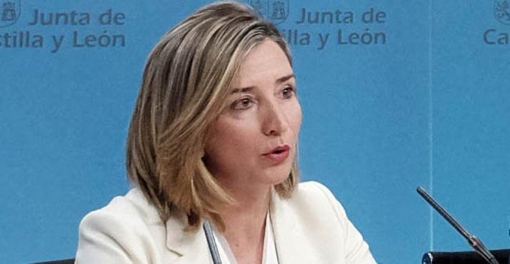 La consejera de Familia e Igualdad, Alicia García.