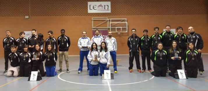 Campeón en la liga de clubes de CyL.