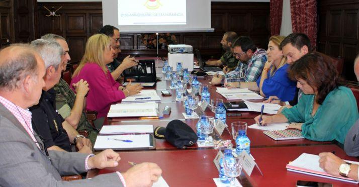 Comisión Local de Seguridad este miércoles en la Subdelegación.