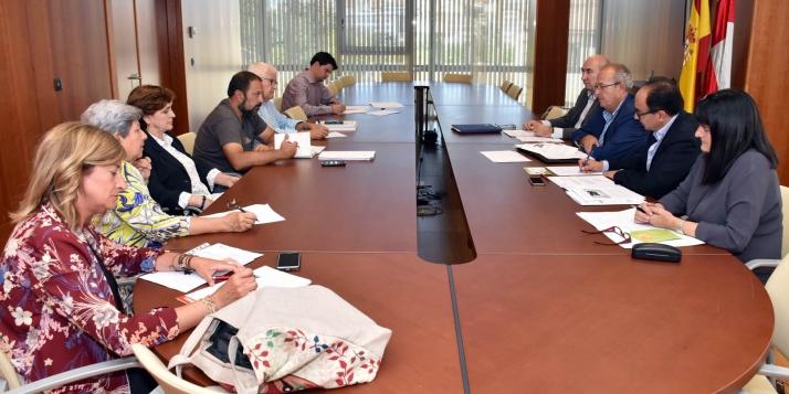Reunión del Consejo de Salud de Área de Soria este miércoles./Jta.