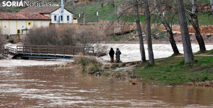 Una imagen de archivo del Duero en Soria./SN