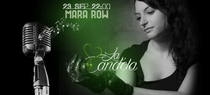 Foto 1 - Cena concierto con Mara Row este sábado en La Candela