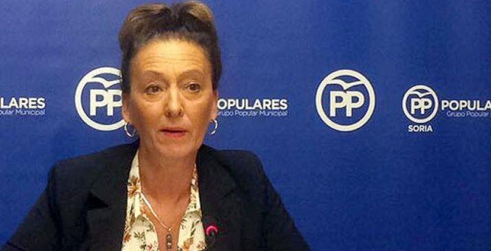 María Pérez, del grupo Popular en el Ayuntamiento capitalino.