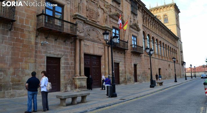Palacio de los Condes de Gómara. /SN