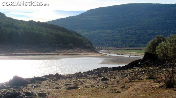 Imagen del pantano este mes/SN
