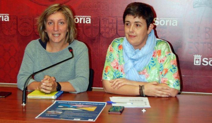 Yolanda Santos (izda.) y Ana Alegre.