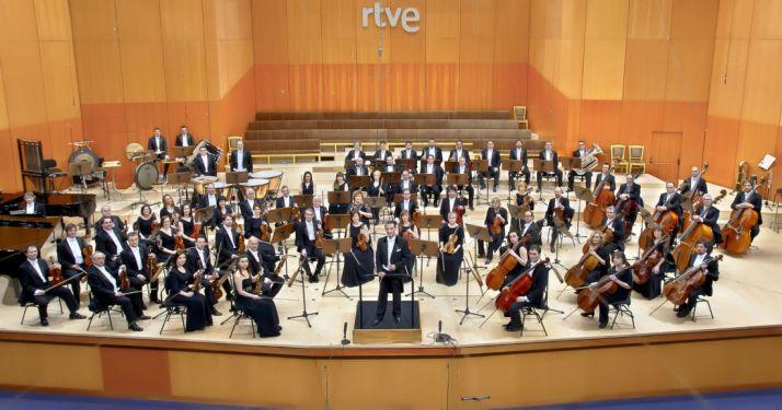 La Orquesta Sinfónica de RTVE.