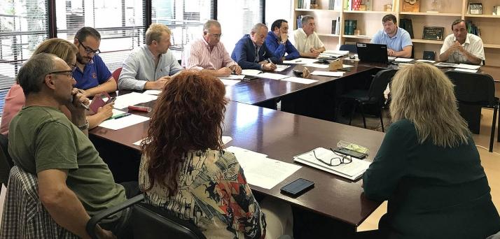 Comité ejecutivo de Montes de Soria.