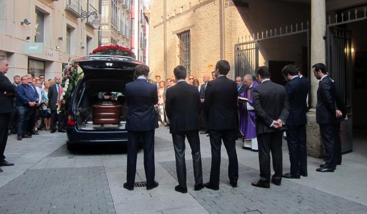 Imagen del funeral este viernes./EP