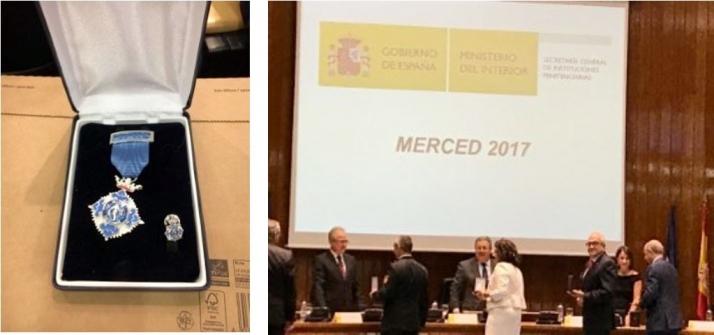 Foto 1 - Cruz Roja en Soria, distinguida con la Medalla de Plata al Mérito Social Penitenciario