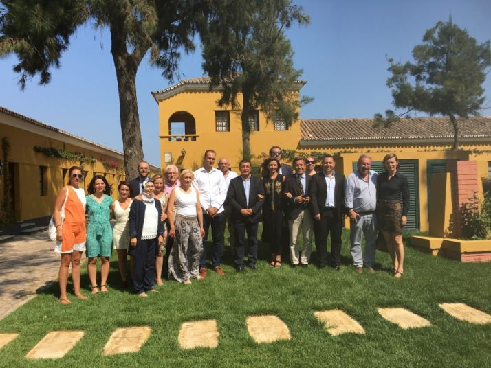 Representantes de las comunidades de la Dieta Mediterránea.