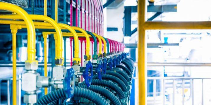 Imagen de una factoría.
