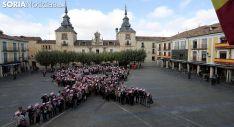Imagen de la jornada este jueves en El Burgo./SN