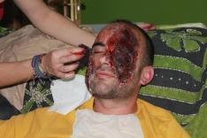Taller de heridas y maquillaje para Halloween en Soria