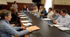 Imagen de la reunión este martes.