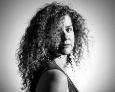 La autora de la exposición./Blanca Almazán