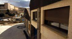 Imagen del edificio en la primera fase de las obras./SN