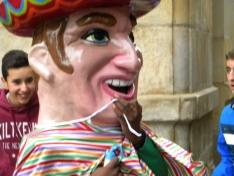 Foto 5 - Los gigantes y cabezudos llenan de color las calles de Soria
