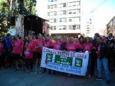 Foto 4 - Fotos: Multitudinaria Marcha contra el Cáncer en Soria