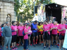 Foto 5 - Fotos: Multitudinaria Marcha contra el Cáncer en Soria