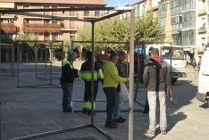 Foto 6 -  ¿Qué están montando en la Plaza Mayor?