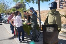 Muestra de los recursos y equipamientos de la Guardia Civil de Soria