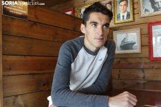 Dani Mateo, el soriano especialista en los 5.000 metros lisos.