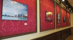 Algunas de las obras de Blanca en el Casino.