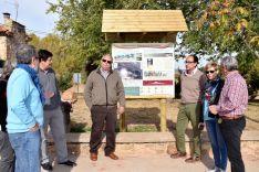Foto 3 - La Junta finaliza los trabajos de señalización de los campamentos romanos de Renieblas
