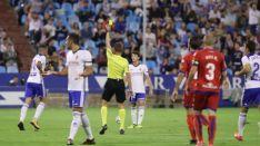 Foto 4 - Numancia sufre en La Romareda una severa derrota ante el Zaragoza (3-0)