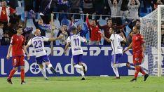 Numancia sufre en La Romareda una severa derrota ante el Zaragoza (3-0)