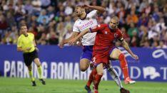 Foto 5 - Numancia sufre en La Romareda una severa derrota ante el Zaragoza (3-0)