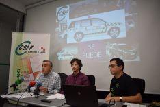 Mariano Prieto, Marcelino Arribas, Manuel Cabezas.