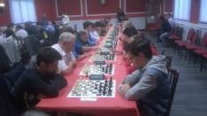 Santiago Roa Alonso encabeza el LXII torneo de ajedrez San Saturio