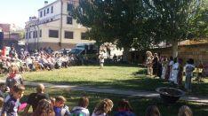 Encuentro intergeneracional en Garray.