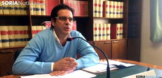 Javier Martín, concejal del PP en el Consistorio de la ciudad./SN